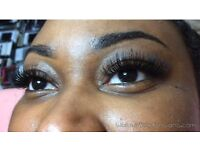 Individual eyelash extensions 1:1 Classic and Russian Volume Lashes