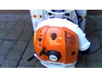 stihl br600 leaf blower brand new never been used
