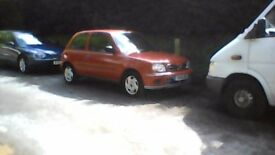 Nissan Micra K11 5 speed manual 2001