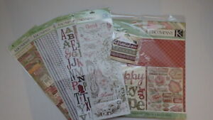 Scrapbook kit and more by K&Company