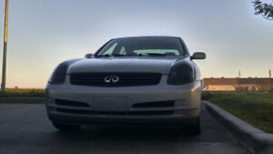 2003 Infiniti G35 With Winter tires, Rims