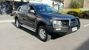 2012 Ford Ranger PX XL 3.2 (4x4) Grey 6 Speed Automatic Dual Cab Utility Melrose Park Mitcham Area Preview