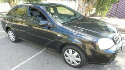 2006 Holden Viva JF Black 5 Speed Manual Sedan