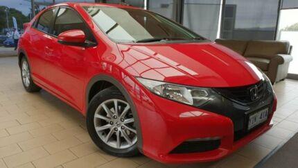 2013 Honda Civic 9th Gen MY13 VTi-S Red 6 Speed Manual Hatchback Belconnen Belconnen Area Preview