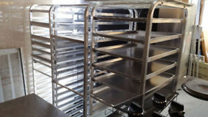 Stainless Kitchen Equipment including shelving, SS Tables & More