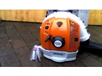 stihl br 600 leaf blower brand new still boxed never been used.