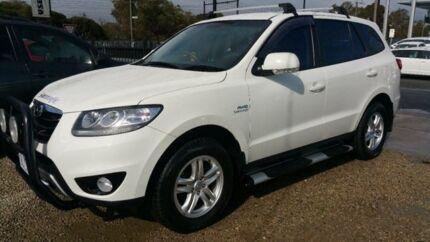 2011 Hyundai Santa Fe CM MY12 SLX CRDi (4x4) White 6 Speed Automatic Wagon Frankston Frankston Area Preview