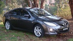 2011 Mazda 6 GH1052 MY12 Luxury Sports Grey 5 Speed Sports Automatic Hatchback Oaks Estate Queanbeyan Area Preview