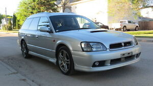 2000 Subaru Legacy GT E-Tune Wagon Freshly Arrived From Japan