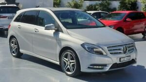 2014 Mercedes-Benz B-Class Silver Sports Automatic Dual Clutch Hatchback Sylvania Sutherland Area Preview
