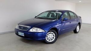 1998 Ford Fairmont AU Blue 4 Speed Automatic Sedan Hobart CBD Hobart City Preview