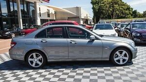2011 Mercedes-Benz C200 CGI W204 MY10 Classic Silver 5 Speed Sports Automatic Sedan Alfred Cove Melville Area Preview