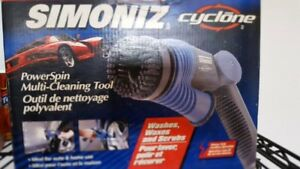 Simoniz Cyclone power spin multi cleaning tool brand new in box