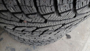 255/60 R 19 STUDDED  Hankook winter tires for sell