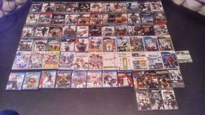 70 video games for sale, PS4, PS3, PSP, Wii