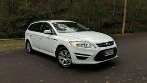2012 Ford Mondeo MC LX PwrShift TDCi White Semi Auto Wagon Springwood Logan Area Preview