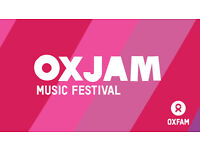 Volunteer music festival coordinator - Oxjam Bedford Festival