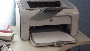 HP P1005 LASERJET PRINTER - HARDLY USED