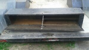 6ft long heavy steel truck or trailer tool box Belleville Belleville Area image 2