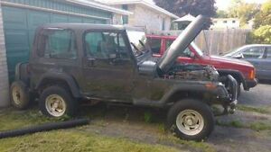 1993 Jeep Wrangler SUV, Crossover