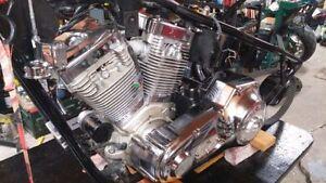 Moteur Harley Davidson S&S 107pc et Trans 6 vitesses ÉCHANGE