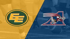 ✪ Edmonton Eskimos vs. Montreal Alouettes FRI Jun 30 8:00PM✪