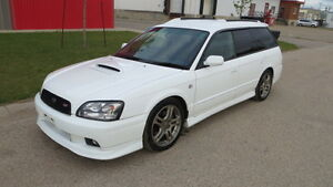2002 JDM RHD Subaru Legacy GT E-Tune Twin Turbo Wagon