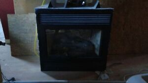 24,000 btu gas fire place