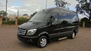 2016 Mercedes-Benz SPRINTER 316 CDI 906 MY14 12 SEATER, MWB/HIGH ROOF Black 7 Speed Automatic Van Condell Park Bankstown Area Preview