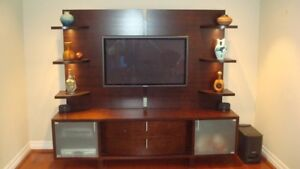 LOWER SECTION PERFECT MEDIA UNIT FOR LARGE TVS!