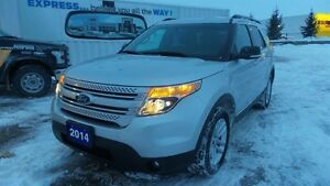 2014 Ford Explorer XLT, 4WD, Lthr, Navi, Local Trade In