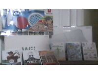 Wii Console/Board 6 Games Including Wii Fit Plus..Wii Play..Tiger Golf.