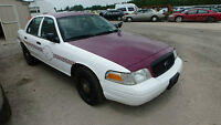 2008 FORD CROWN VIC POLICE INTCPTR PARTS ON SALE!