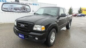 2011 Ford Ranger Sport, 4WD, Local Trade In