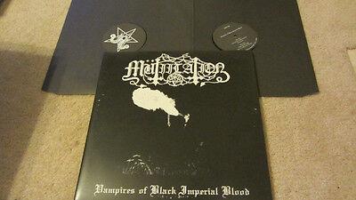 Mutiilation Vampires of  Imperial Blood  2 LP Torgeist Black Legions vlad tepes