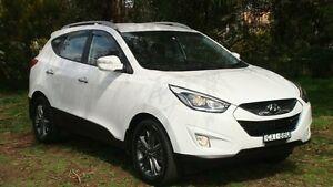 2014 Hyundai ix35 LM3 MY15 Elite AWD White 6 Speed Sports Automatic Wagon Oaks Estate Queanbeyan Area Preview