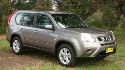 2012 Nissan X-Trail T31 Series V ST Silver 1 Speed Constant Variable Wagon Oaks Estate Queanbeyan Area Preview