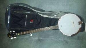 Epiphone Banjo + Case