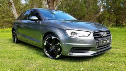 2015 Audi A3 8V MY15 Attraction S tronic Green 7 Speed Sports Automatic Dual Clutch Sedan Tanunda Barossa Area Preview
