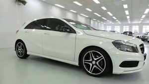 2013 Mercedes-Benz A200 W176 White 7 SPORTS AUTOMATIC DUAL CLUTCH Hatchback Artarmon Willoughby Area Preview