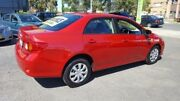 2007 Toyota Corolla ZRE152R Ascent Red 4 Speed Automatic Sedan Lidcombe Auburn Area Preview