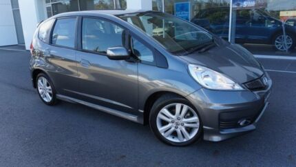 2013 Honda Jazz GE MY12 Update Vibe-S Grey 5 Speed Automatic Hatchback Port Macquarie Port Macquarie City Preview