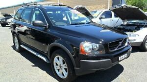 2004 Volvo XC90 P28 T6 Black Sports Automatic Wagon Mudgee Mudgee Area Preview