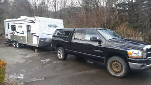 Dodge Ram and or 23' Creek Side travel trailer