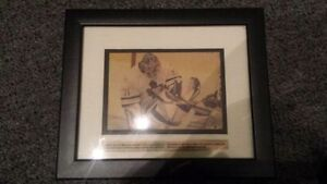 Curtis Joseph Framed Newspaper Picture