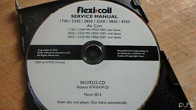 2014 Flexi Coil Air Cart Service Manual Cd Dn136