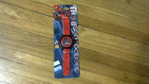 Boys Spiderman Projection LCD Watch.[new]