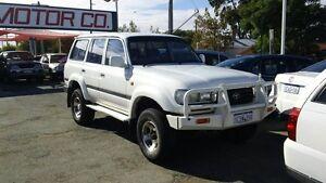 1995 Toyota Landcruiser FZJ80R GXL White 4 Speed Automatic Wagon Victoria Park Victoria Park Area Preview