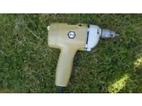 black & decker drill single speed vgc excellent working order approx 15 ft cable