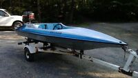Hydrostream Voodoo, 40HP with trailer